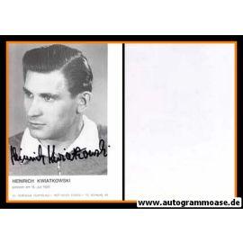 Autogramm Fussball | DFB | 1950er Retro | Heinrich KWIATKOWSKI
