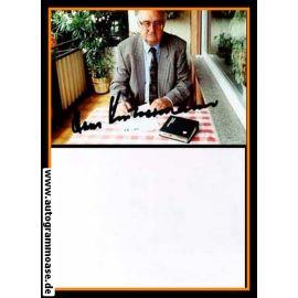 Autogramm Fussball | DFB | 1995 Foto | Hans KINDERMANN (Portrait Color)