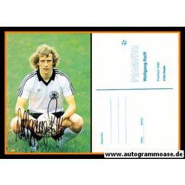 Autogramm Fussball   DFB   1970er   Wolfgang ROLFF (Portrait Color)