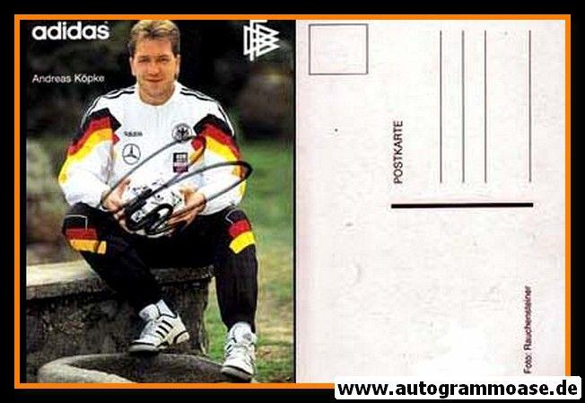 Autogramm Fussball   DFB   1992 Adidas   Andreas KÖPKE