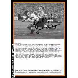Autogramm Fussball | DFB | 1953 Retro | Gerd HARPERS (Spielszene SW England)