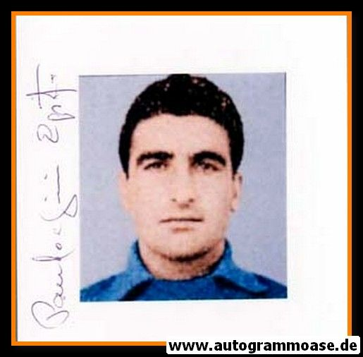 Autogramm Fussball | Italien | 1950er Foto | Egisto PANDOLFINI (Portrait Color) 1