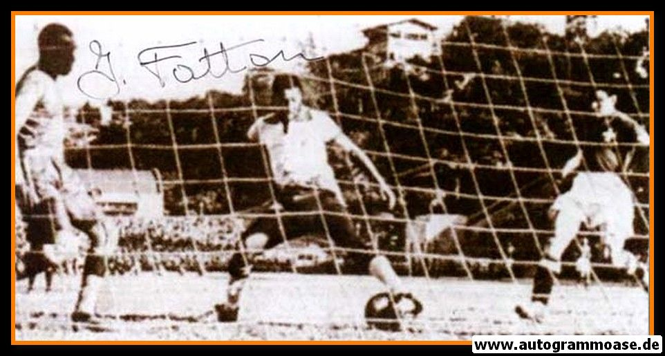 Autogramm Fussball   Schweiz   1950 WM Foto   Jacques FATTON (Spielszene Italien)