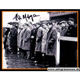 Mannschaftsfoto Fussball | Manchester United | 1960 + AG Kenny MORGANS (Anzug)
