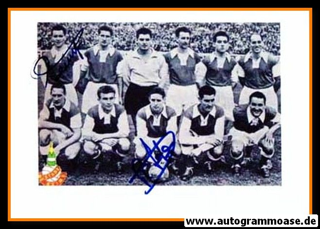 Mannschaftsfoto Fussball | Stade Reims | 1953 + 2 AG (KOPA + PENVERNE)