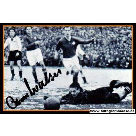 Autogramm Fussball | DFB | 1952 Foto | Ottmar WALTER (Spielszene SW Schweiz)