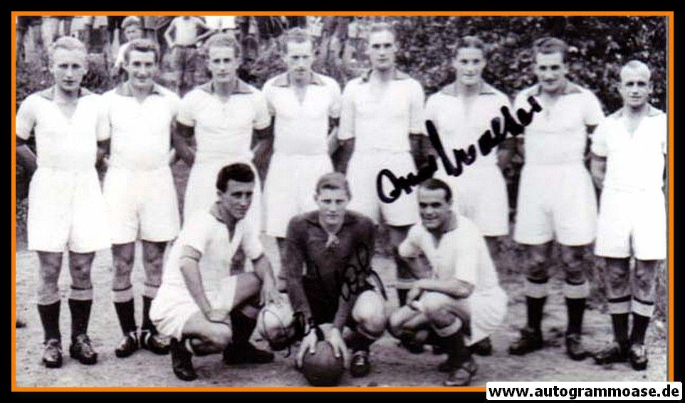 Mannschaftsfoto Fussball | 1. FC Kaiserslautern | 1948 + 2 AG (HÖLZ + O. WALTER)
