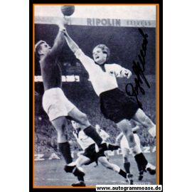Autogramm Fussball | DFB | 1952 Foto | Georg STOLLENWERK (Spielszene Frankreich)