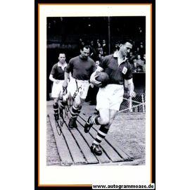 Autogramm Fussball   England   1950er Foto   Gil MERRICK (Einlauf SW)