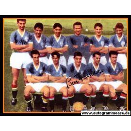 Mannschaftsfoto Fussball | Manchester United | 1958 + AG Bill FOULKES