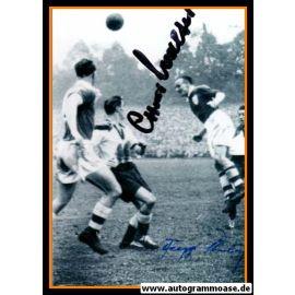 Autogramme Fussball | DFB | 1952 Foto | RÖHRIG + O. WALTER (Spielszene SW) Irland