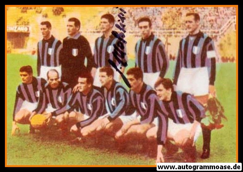 Mannschaftsfoto Fussball | AC Mailand | 1957 + AG Cesare MALDINI
