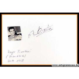 Autograph Fussball | Frankreich | Roger PIANTONI