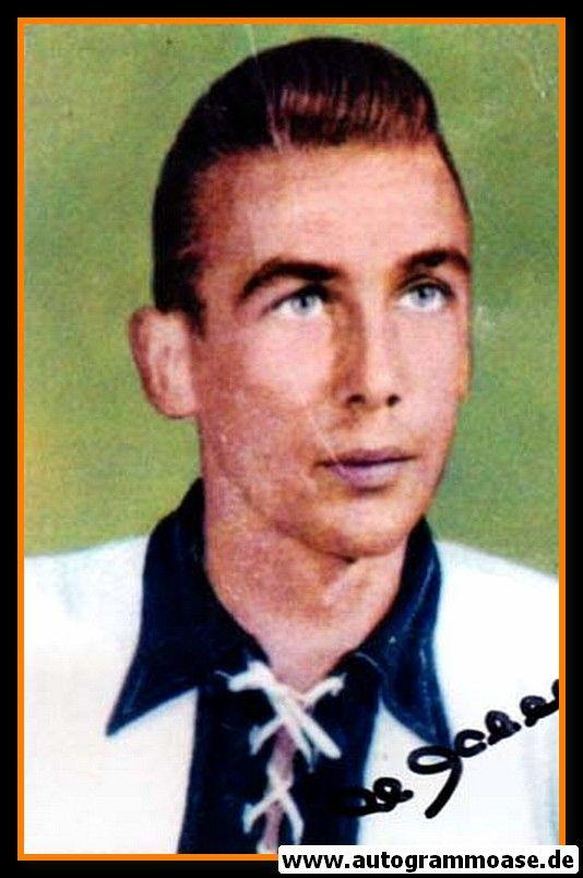 Autogramm Fussball | DFB | 1950er Foto | Horst ECKEL (Portrait Color)