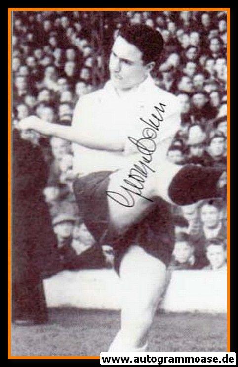 Autogramm Fussball | England | 1960er Foto | George COHEN (Spielszene SW)