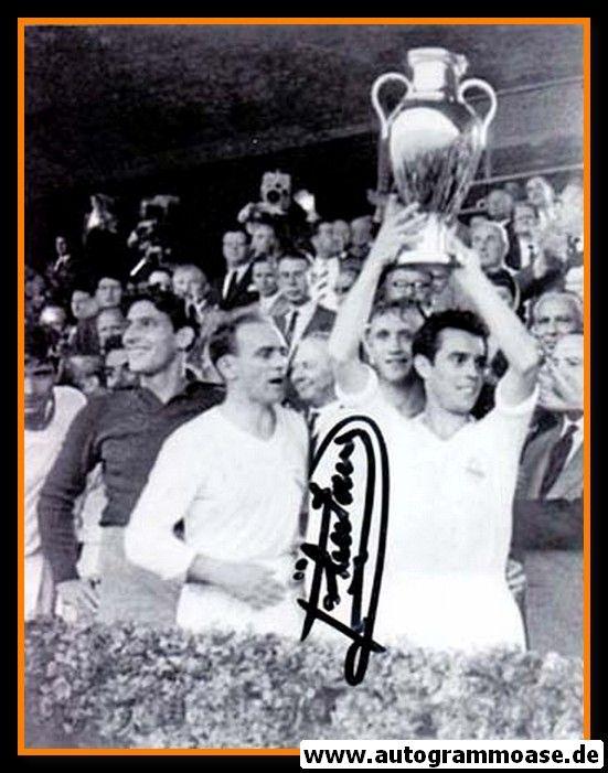 Autogramm Fussball | Real Madrid | 1960er Foto | Jose SANTAMARIA (Pokalsieg SW)