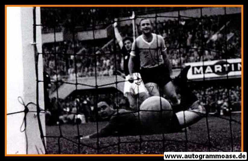 Autogramm Fussball | Uruguay | 1954 Foto | Jose SANTAMARIA (Spielszene SW) 1