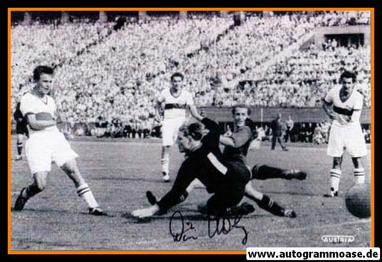 Autogramme Fussball | FCK / VfB | 1953 Foto | Willi HÖLZ + Erwin WALDNER (Finale)