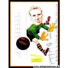 Autogramm Fussball   England   Bert WILLIAMS (Foto Comic)