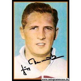 Autogramm Fussball | DFB | 1960er Foto | Jupp DERWALL (Portrait Color)