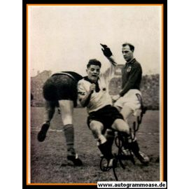 Autogramm Fussball | DFB | 1951 Foto | Georg STOLLENWERK (Luxemburg) 1
