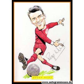 Autogramm Fussball | England | Roger HUNT (Comic)