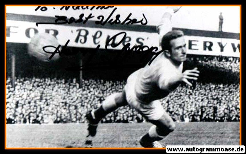 Autogramm Fussball   Nordirland   1950er Foto   Harry GREGG (Spielszene SW) 2