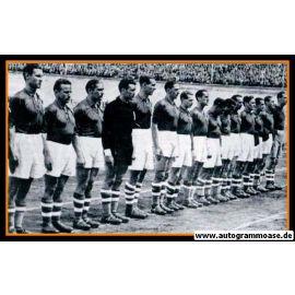 Mannschaftsfoto Fussball | Europa | 1937 + AG Pietro RAVA
