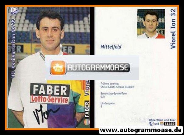 Autogramm Fussball | VfL Bochum | 1998 | Viorel ION
