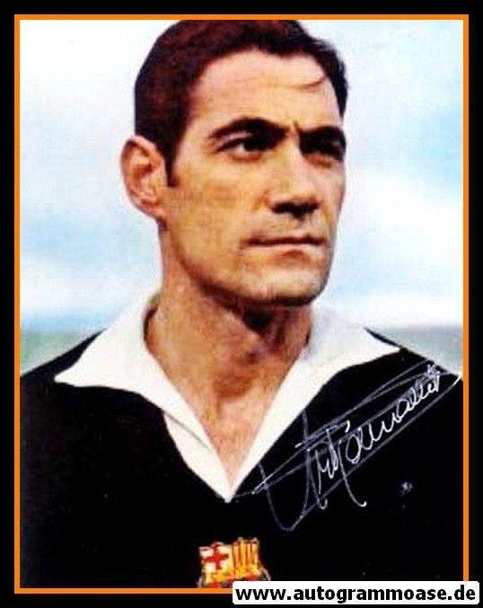 Autogramm Fussball   FC Barcelona   1950er Foto   Antoni RAMALLETS (Portrait Color)
