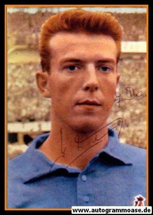Autogramm Fussball   Frankreich   1950er Foto   Yvon DOUIS (Portrait Color)