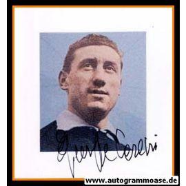 Autogramm Fussball | Italien | 1950er Foto | Giuseppe CASARI (Portrait Color)