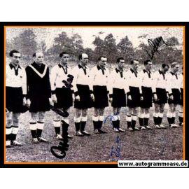 Mannschaftsfoto Fussball | DFB | 1952 Foto | 3 AG (Retter, Röhrig, O. Walter) Irland
