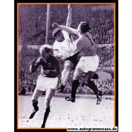 Autogramm Fussball | DFB | 1966 WM Foto | Wolfgang WEBER (Finale) 2