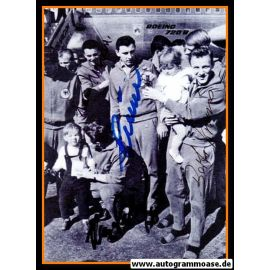 Autogramme Fussball | DFB | 1962 WM Foto | 4 AG (Kraus, Nowak, Schäfer, Sturm) Flughafen