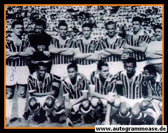 Mannschaftsfoto Fussball | Sao Paulo | 1957 Foto + AG Nilton DE SORDI