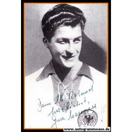 Autogramm Fussball | DFB | 1950er Retro | Gerd HARPERS (Portrait SW)