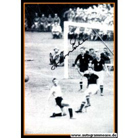 Autogramm Fussball | Ungarn | 1954 WM Foto | Gyula GROSICS (Spielszene Uruguay)