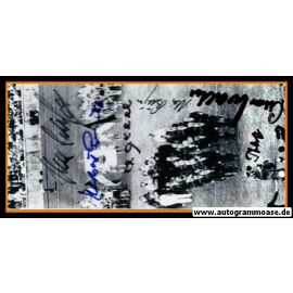 Autogramme Fussball | DFB | 1954 WM Foto | 6 AG (Ehrung Olympiastadion)