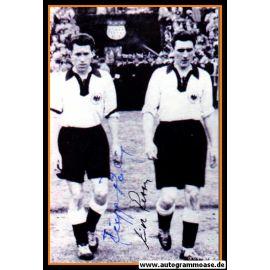 Autogramme Fussball   DFB   1950er Foto   RETTER + RÖHRIG (Portrait SW)
