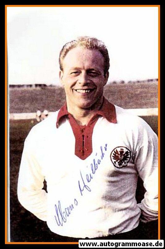 Autogramm Fussball | Eintracht Frankfurt | 1960er Retro | Hans WEILBÄCHER (Portrait Color)
