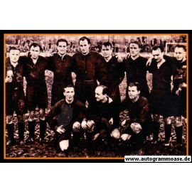 Mannschaftsfoto Fussball   Hannover 96   1954 + 6 AG (Meister)