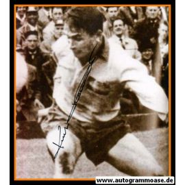 Autogramm Fussball   Schweden   1950er Foto   Kurt HAMRIN (Spielszene SW)