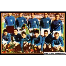 Mannschaftsfoto Fussball | Italien | 1962 WM + AG Giovanni TRAPATTONI