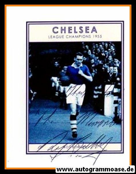 Autogramm Fussball   FC Chelsea   1955 Foto   Roy BENTLEY (Portrait SW)