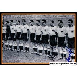 Mannschaftsfoto Fussball | DFB | 1953 + 2 AG (STOLLENWERK + ZEITLER) Amateure Frankreich