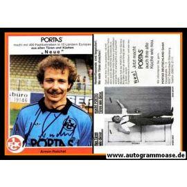 Autogramm Fussball | 1. FC Kaiserslautern | 1981 | Armin REICHEL