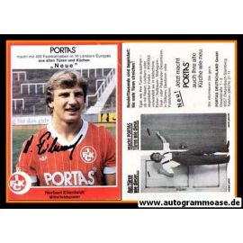 Autogramm Fussball | 1. FC Kaiserslautern | 1981 | Norbert EILENFELDT