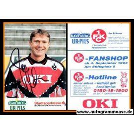 Autogramm Fussball | 1. FC Kaiserslautern | 1993 | Jan ERIKSSON