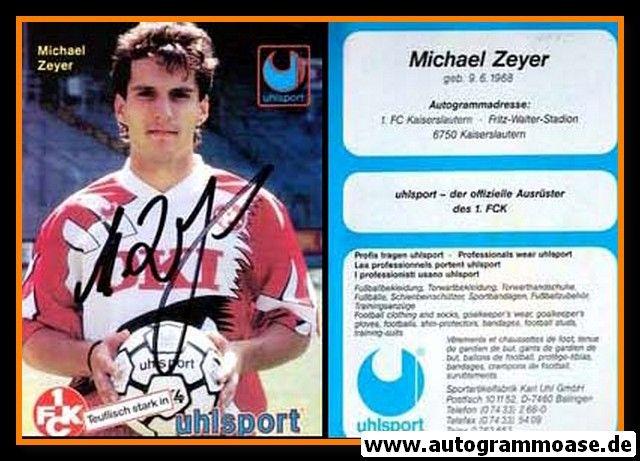 Autogramm Fussball | 1. FC Kaiserslautern | 1994 Uhlsport | Michael ZEYER